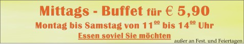 Mittags Büffet